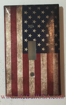 US USA United State Flag Light Switch Power Outlet Wall Cover Plate Home decor