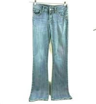 Silver Suki Women's 5 Pocket Light Wash Western Glove Works Jeans 29 x 3... - $19.79