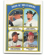 2021 Topps Heritage #90 Mike Trout/Jose Abreu/Jose Ramirez/Luke Voit NM-... - $1.75