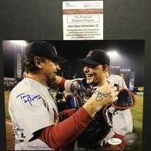 Autographed/Signed YADIER MOLINA & TONY LA RUSSA Cardinals 8x10 Photo JS... - $149.99