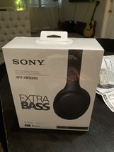 Sony WH-XB900N Wireless Noise Canceling Headphones - Black New Sealed Free Ship - $149.98