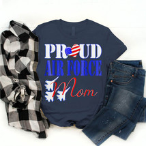 Mother T-Shirt Proud Air Force Mom Air Force 2018 Birthday Gift Vintage ... - $18.99+