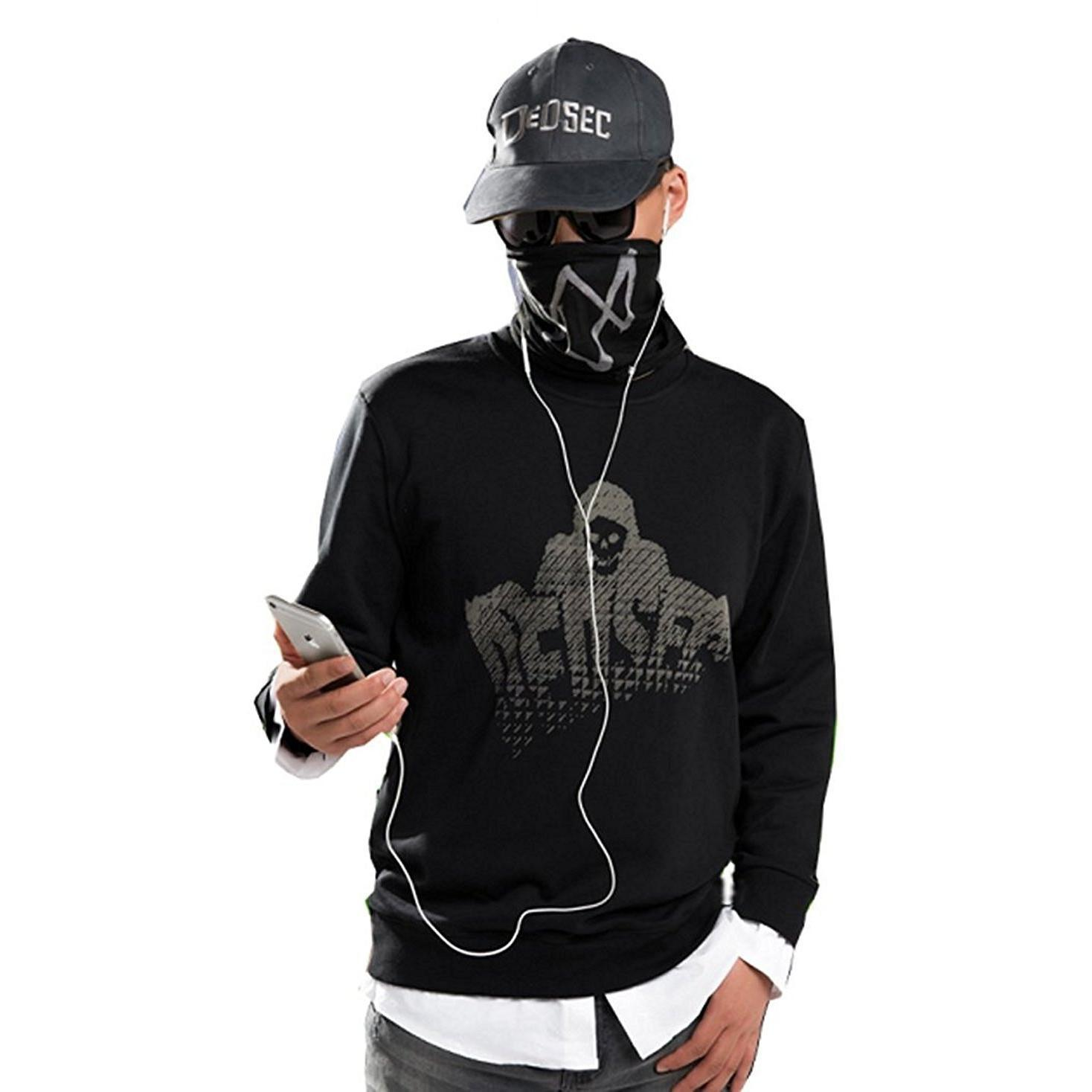 Primary image for Watch Dogs 2 Marcus Cosplay Long Sleeves Hoodie
