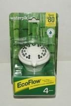 Waterpik EcoFlow Shower Head, 1/2 in 4 modes - $15.83