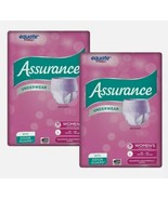 (2 Pack) Assurance Incontinence Underwear for Women Large L Adult Diaper... - $37.39