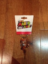 Super Mario 3D Land Keychain Brand New Rare Limited Nintendo - $7.91
