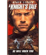 A Knight's Tale VHS Heath Ledger Mark Addy Rufus Sewell - $1.99