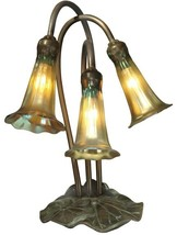 Accent Lamp Table DALE TIFFANY LILY Transitional 3-Light - €643,18 EUR