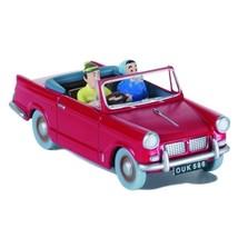 The triumph Herald 1200 - Black Island Voiture Tintin cars Editions Atlas 1/43