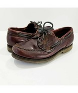 Sebago Docksides Oil Tanned Leather Casual Boat Deck Oxfords Shoes 46526... - £21.22 GBP