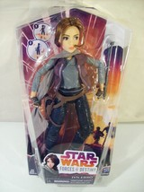 "NEW DISNEY STAR WARS FORCES OF DESTINY JYN ERSO 11"" DOLL HASBRO 2016 - $14.65"