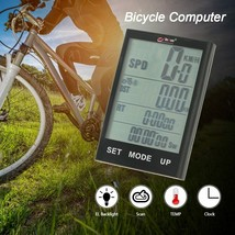 ENJOY® Wireless Bicycle Computer Stopwatch With LCD Backlight For Cyclin... - $24.78