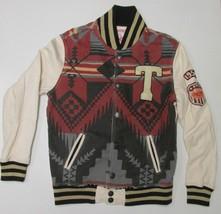 True Religion Varsity Fleece Jacket Size Medium - $64.35