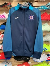Joma Cruz Azul Track Jacket Navy Blue 2019/20 Size Small  Free Shipping - $98.99