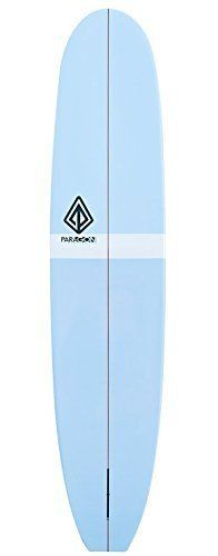 "Paragon Surfboards Retro Noserider 9'0"" Blue-White-Blue Surfboard"