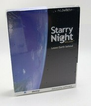 New - Sienna Starry Night Deluxe Leave Earth Behind Astronomy Software M... - $45.43