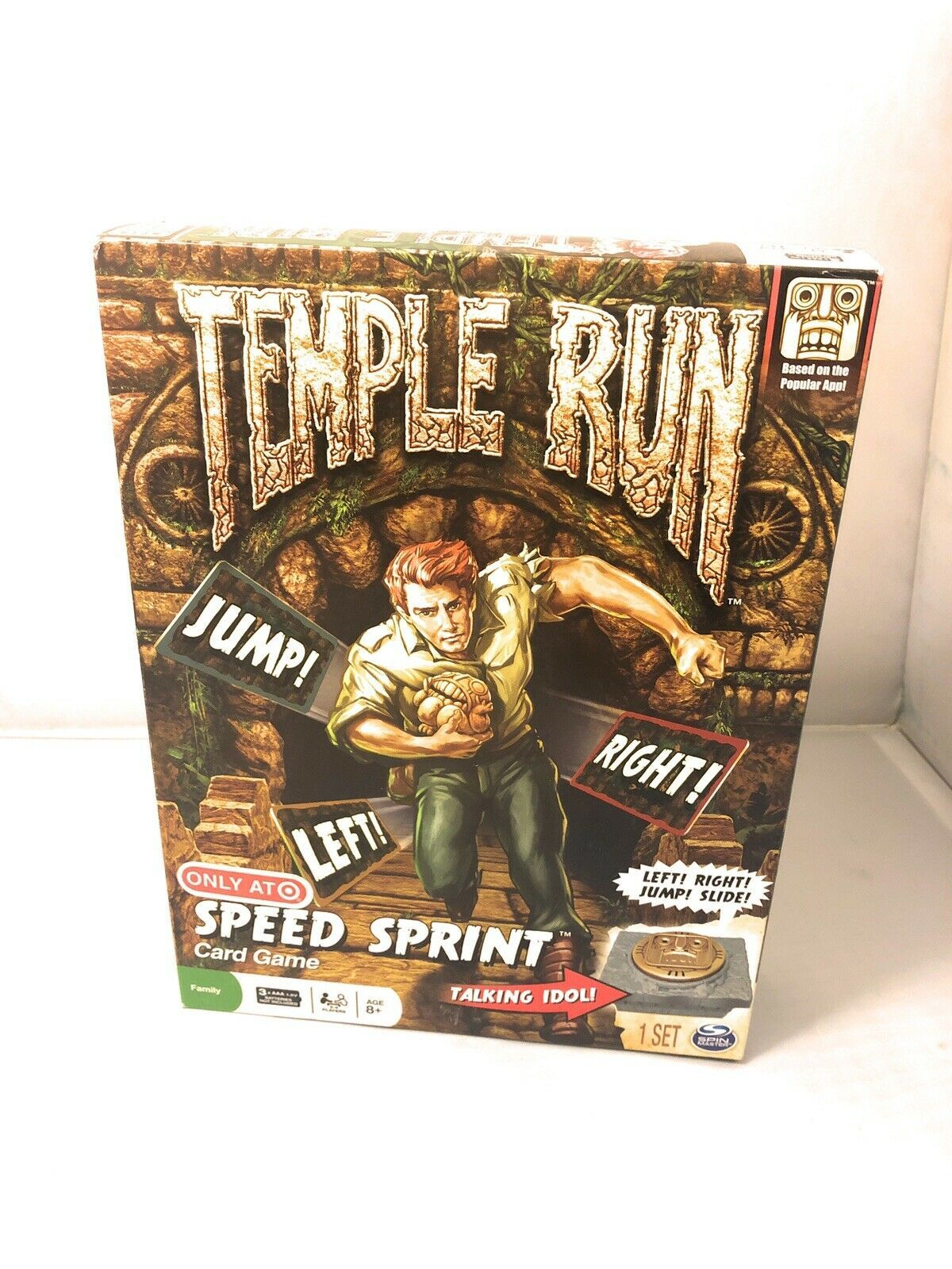 Temple Run Card Game Speed Sprint Target Exclusive Spin Master - $9.99