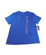 UNDER ARMOUR UA HeatGear Lacrosse Wordmark T-Shirt sz XXL Extra Extra La... - $39.90