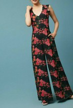 Anthropologie Laurette V-Neck Jumpsuit by Tracy Reese $198 Sz S - NWOT - $99.99