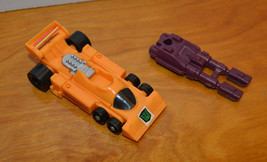 VINTAGE G1 TRANSFORMERS DRAG STRIP ACTION FIGURE W/ MENASOR GUN WEAPON A... - $10.40