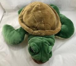 "Wild Republic Puppet Tortoise Turtle Plush Stuffed Animal 18"" jumbo big ... - $34.65"
