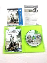Xbox 360 Assassins Creed III 2 Disc Game Case Insert Gamestop Edition - $15.79