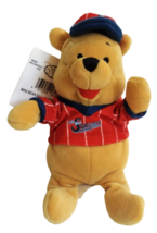 "Disney Store Winnie the Pooh Baseball Mini Beanbag 8"" Plush Stuffed Toy ... - $17.86"