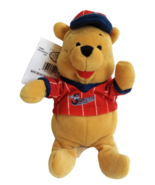 "Disney Store Winnie the Pooh Baseball Mini Beanbag 8"" Plush Stuffed Toy ... - $17.86"