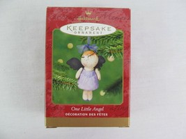 Hallmark Keepsake Ornament One Little Angel 2001 Christmas  - $9.89