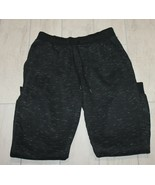Mens Sweatpants Black Thick Material Size Unknown  - $17.54