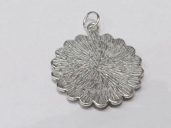 Fine Pendant 1928 Irish sixpence 90th Birthday + 18 inch Sterling Silver Chain