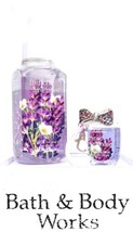 Bath & Body Works French Lavender Hand Soap, Pocketbac & Bow Wrist Band ... - $24.70