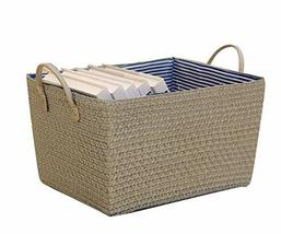 Black Temptation Simple Household Storage Basket Storage Containers Stor... - £26.18 GBP