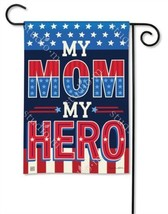 BreezeArt My Mom My Hero Garden Flag - $11.48