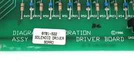 DIAGRAPH 8701-922 SOLENOID DRIVER BOARD 8701922 image 4
