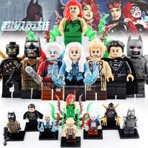8pcs DC Universe Batman Poison Ivy Black Superman Killer Frost Lego Minifigures - $12.99