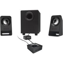 Logitech Z213 2.1 Speaker System - 7 W RMS - Desktop - 65 Hz - 20 kHz - $40.88