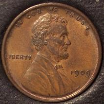 1909 VDB Lincoln Wheat Back Penny AU #0541 - $19.99