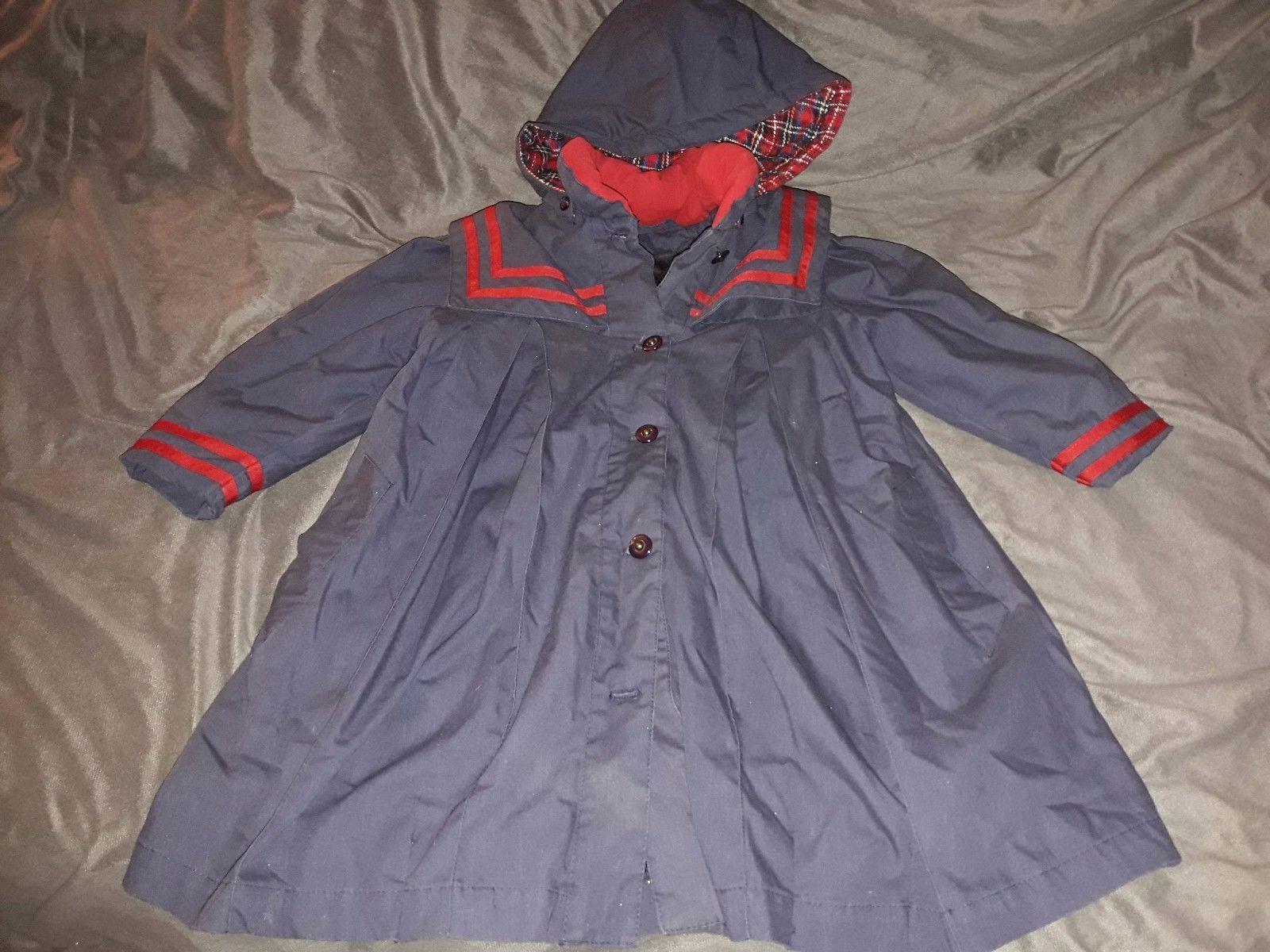 b88486668 LONDON FOG Girls  size 4 Sailor Dress Coat and 50 similar items