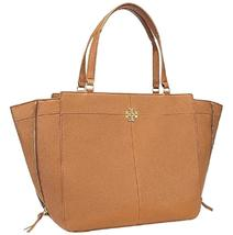 Tory Burch  Ivy Side-zip Shoulder Bark Leather Tote  - $299.00