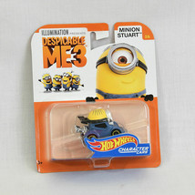 Despicable Me 3 Hot Wheels Character Cars Minion Stuart NEW - $8.95
