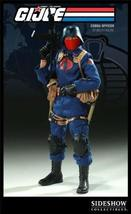GI Joe Sideshow Collectibles 12 Inch Deluxe Action Figure Cobra Officer - $227.70