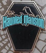 The Haunted Mansion Logo Authentic Mini Pin LIMITED EDITION 500 - $24.88