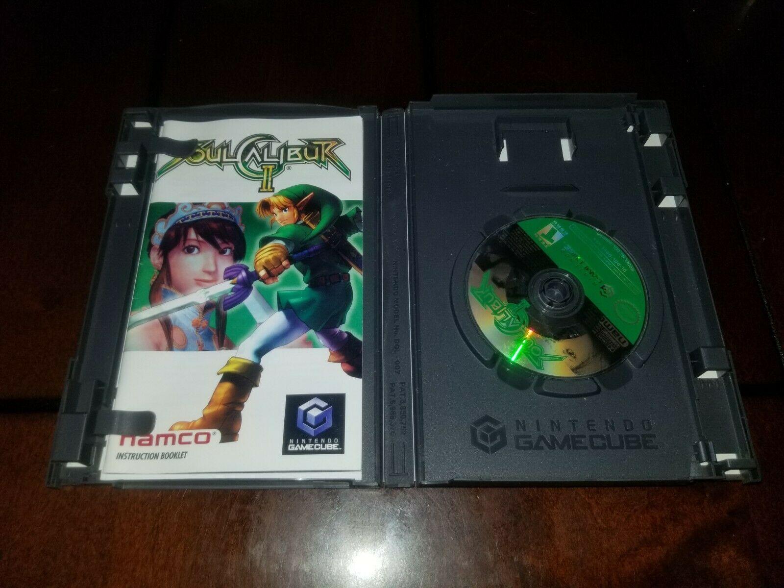 Soul Calibur II Nintendo GameCube EX **Inv02858** image 3