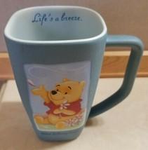 Walt Disney World Parks Winnie the Pooh Square Cup Mug Life's A Breeze FS - $19.99
