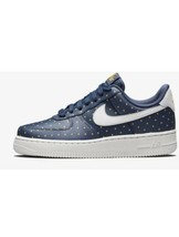 Wmns Nike Air Force 1 07 Thunder BLUE-PHANTOM Sz 6.5 [AT5019-400] - $74.25