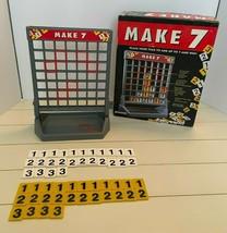 Vintage Make 7 Board Game By Pressman 1994 - £10.53 GBP