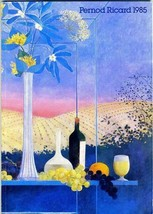 Pernod Ricard Annual Report 1985 Wines and Spirits and Soda - $34.61