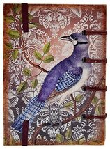 Handicraft Journal Print Handmade Special Binding Vintage Bird Diary Chr... - $28.42