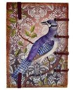 Handicraft Journal Print Handmade Special Binding Vintage Bird Diary Chr... - $28.42